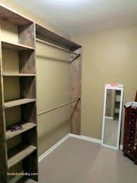 closet wood shelves and rods installing cabinets built in linen closets designs building best concept lets