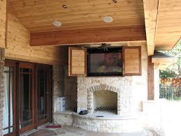 outdoor tv cabinet diy