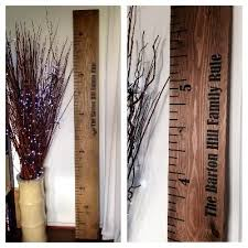 Wooden Ruler Height Chart Uk Solid Wooden Kids Height Chart Rulers Children Ideas And