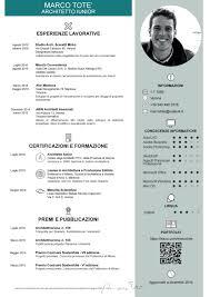 Architetto Iunior Marco Tote Curriculum Vitae Curriculum Cv