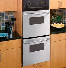 ge 24 double wall oven jrp28skss liances