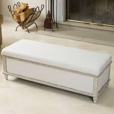 fabric storage ottoman bench. Abilene Light Beige Fabric Storage Ottoman Bench By Christopher Knight Home Intended
