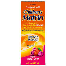 Childrens Motrin Childrens Ibuprofen Oral Suspension Original Berry