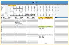 Linear Calendar Template Marketing Google Sheets 2017 Jjbuilding Info