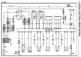 toyota highlander electrical wiring diagram 1999 toyota camry mcv20 sxv20 series electrical wiring diagram