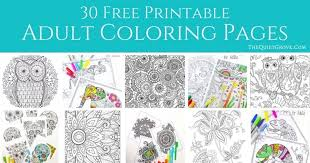 These preschool coloring sheets will introduce new concepts to your child in a fun and stress free manner. 30 Totally Awesome Free Adult Coloring Pages The Quiet Grove