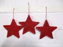 Details Zu 3 Sterne Rot Weihnachten Fensterdeko Stern Weihnachtsdeko Floristik Advent Deko