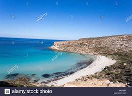 Lampedusa Island Sicily Rabbit Beach And Rabbit Island Lampedusa