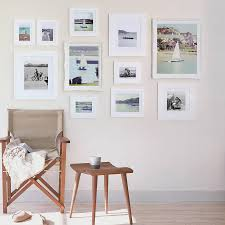 gallery frame white wall collection various sizes
