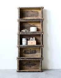 brick shelf book shelf hanging