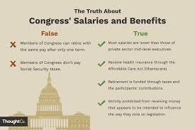 Presidential Salary History Chart Salaries And Benefits Of Us Congress Members