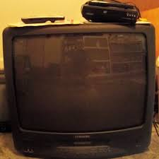 samsung tv dvd combo. samsung tv/vcr combo (old-style) with magnavox dvd player tv dvd y