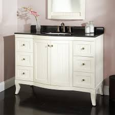white wooden bathroom furniture. White Wooden Vanities With Tops In Black And 6 Drawers For Bathroom  Furniture Idea T