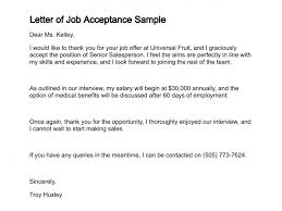 accept a job offer ideas collection letter to accept job twentyeandi about sample job