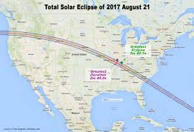 2017 Solar Eclipse Chart Path Of Totality 2017 August 21st Solar Eclipse Maps And