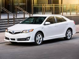 Toyota Camry Hybrid SE 2014 -white exterior designs with white ...