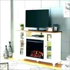 corner electric fireplace media center stand bobs furniture grate home