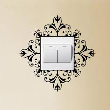 Home Decoration Accessories Wall Art Light Switch Wall Art Decal Stickers Modern Home Decoration 62