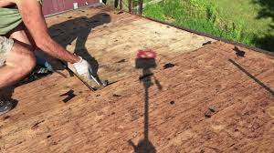 repair hole in roof plywood. Plain Hole Plywood Roof Sheathing Installation  Repair Fast And Easy To Hole In H