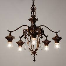 antique spanish chandelier style