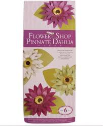 Dahlia Flower Making With Paper Tootpado Paper Dahlia Flower Making Kit Fs04 Diy Art And Craft Kits