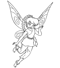 It develops fine motor skills, thinking, and fantasy. Top 25 Free Printable Tinkerbell Coloring Pages Online