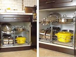 Kitchen Pot And Pan Organization From Lowes House Ideas
