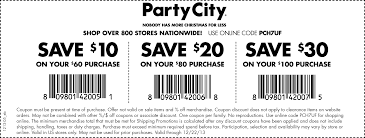 city printable coupon party city printable coupon