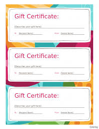 Free Business Gift Certificate Template Gift Certificate Template Pages With Photos Free Apple For Card 16