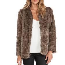 heartloom tess faux fur coat
