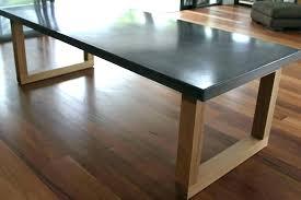 diy concrete dining table kitchenbastille round