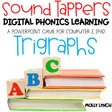 Trigraphs Sound Tappers Digital Phonics Learning Powerpoint Games