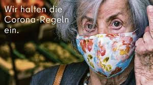 Von a wie angeln bis z wie zoos. Coronavirus Berlin Ad Sticks Middle Finger To Mask Rule Breakers Bbc News
