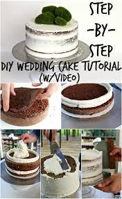 diy wedding cake. DIY WEDDING CAKE TUTORIAL Parties and Events Pinterest Diy