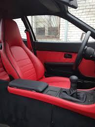 porsche 944 custom red interior