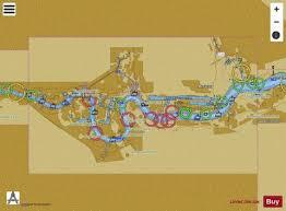 River Thames Margaret Ness To Tower Bridge Marine Chart