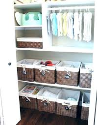 baby closet clothes size dividers diy organizer
