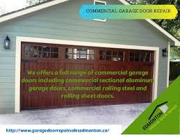 local garage door repairLocal Garage Door Installation Replacement and Repair Service in Edm