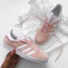 adidas shoes pink and gold. gazelle - baskets basses vapour pink/white/gold metallic. adidas sneakerscheap shoespink shoes pink and gold u