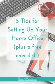 ultimate home office. The Ultimate Home Office Checklist + Tips For Setting Up Your