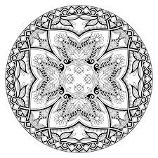 Mandala Par Karakotsya 1 Coloriage Mandalas Coloriages Pour