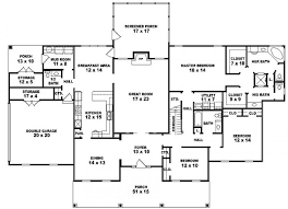 amusing 5 bedroom 3 bath house plans gallery best image engine