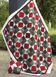 197 best Ohio state images on Pinterest | The league, Alligators ... & New Beginnings Flannel Quilt Kit from The Pine Needle Quilt Shop, Lake  Oswego, OR. Adamdwight.com