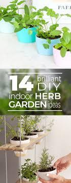 14 brilliant diy indoor herb garden ideas