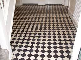 black and white floor tiles with magnificent k and white bathroom