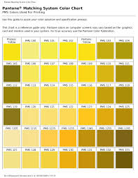 Printing Colour Chart Pms Colors Used For Printing