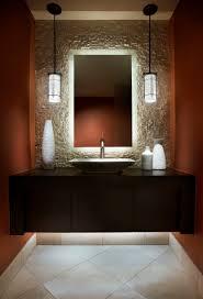 powder room lighting. Love The Soft Glow Behind Mirror Powder Room Lighting O