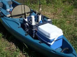 kayak rod holder storage crate