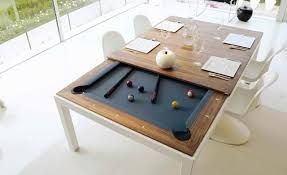 modern pool table dining table. Fine Table Turn Your Dinner Table Into A Pool Inside Modern Dining M