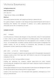 Format For A Resume Interesting Graphic Designer Resume Summary Best Formats Free Samples Examples